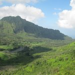 View from the end of Pauoa Flats trail.
