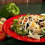 Fresh Salad with Chicken