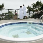 Enjoy our outdoor hot tubs