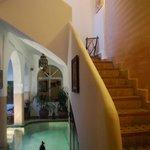 Escalier des chambres