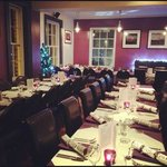 upstairs restaurant and function room.