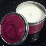 Massage candle. Light it, enjoy it, and use melted wax to massage with or moisturize skin.