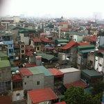 Skyline from 8th floor balcony.