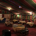 dinner under berber tent