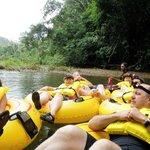 Belize Cavetubing
