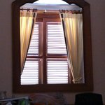 Mirror view of window