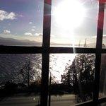 Vista del lago desde habitación