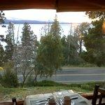 Vista lago desde comedor