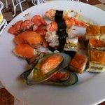 The Sushi was amazing!