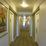 ホテルの廊下