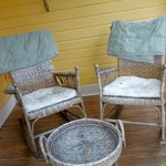 Private porch- The Lilac Room