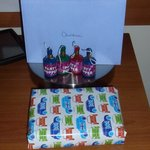 Present and card
