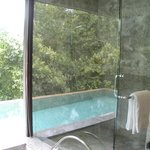 One Bedroom Garden villa internal shower