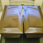 General and Mrs. Grant's coffins