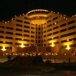 Eram Hotel at Night