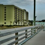 Motel as seen from the Pier