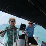 Sailing on Venture