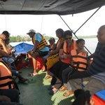 Lagoon area boat trip