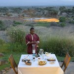 Dinner Overlooking Waterhole