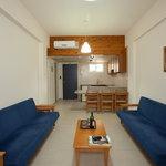 one-bedroom living room