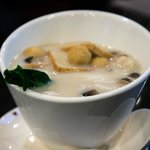 Rice noodles in fish soup