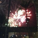 fireworks on 31/12/12