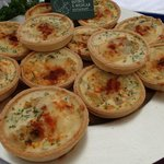 Caramelised Onion Tarts,Taste Cumbria Food Festival, Cockermouth- event held every year in Septe