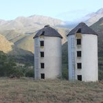 The silos at the Retreat
