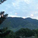 kamar Leopard ke arah pegunungan