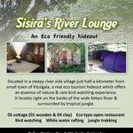 Sisira's River Lounge, Kithulgala, is a fantastic rainforest Lodge situated ju