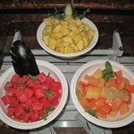 Fresh fruits for breakfast