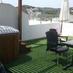 Terrace and Hot Tub