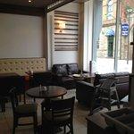 Inside Caffé Fresco Derry