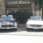 Oldtimer Hotel in Meran - Autovermietung Mercedes-Benz Pagode 230 SL