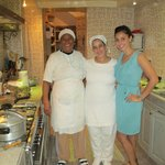 Cooking lessons with the ladies at Riad Camillia