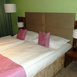 double bed in standard room