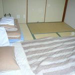 habitacion doble estilo japones