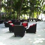 Bar on the beach.