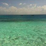 Clear water @ Maldives Baros