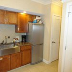 Kitchen (washer & dryer are in the little closet by the fridge)
