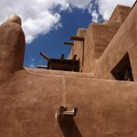 Santa Fe authentic architecture