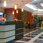 Hotel's reception desk
