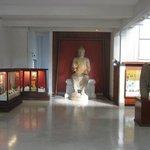 The museum interior