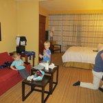 suite heeft apart zitgedeelte