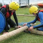 Raft Building Wimbleball Lake