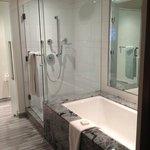 full spa bathroom