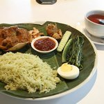 Nasi Lemak at the hotel's restaurant