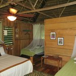Thatched garden casita room