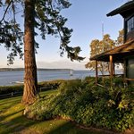 Our waterfront property sits on the shores of beautiful Penn Cove.