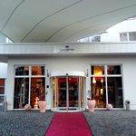 Eingangsbereich Inselhotel Potsdam